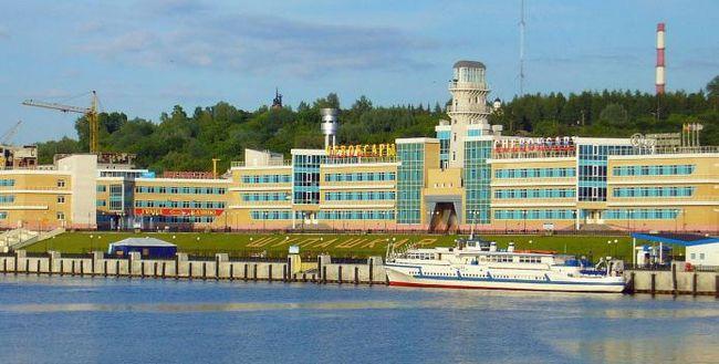 Речной порт, чебоксары. Водный транспорт