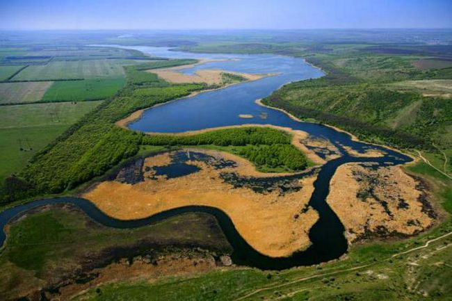Rivers Donbass. Vodnih resursa Donbass