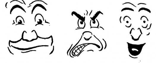 smiješnih lica olovka