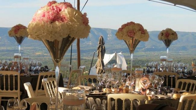 Романтичная свадьба в стиле прованс