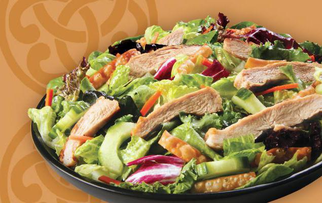 Салат диетический с куриной грудкой: рецепт с фото
