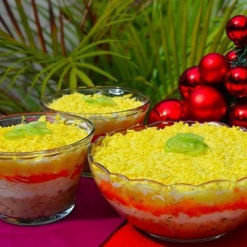 Салат с сыром плавленным: рецепты