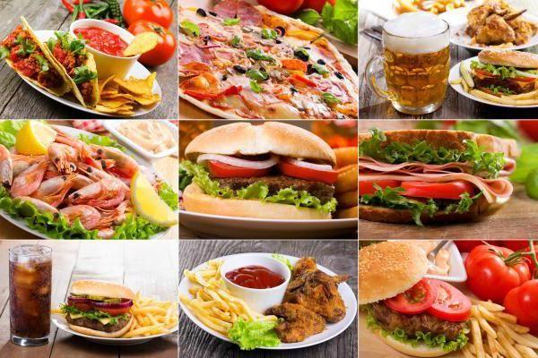самая калорийная еда