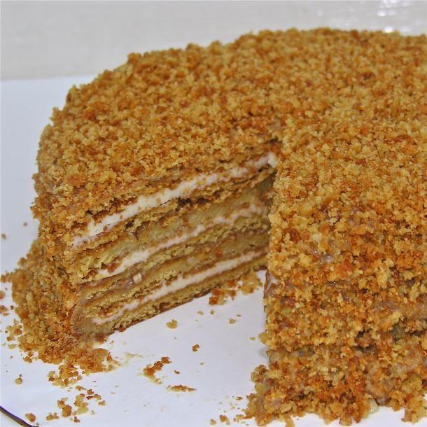 jednostavan recept za med torta