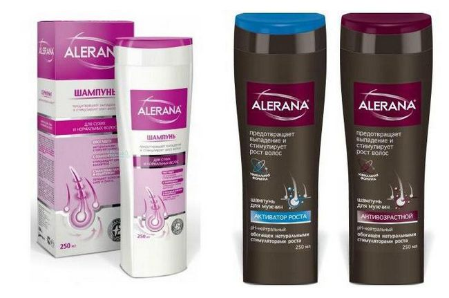 """Šampon """"alerana"""" za rast kose: mišljenja liječnika, sastav, uputa, fotografije, analoga"""