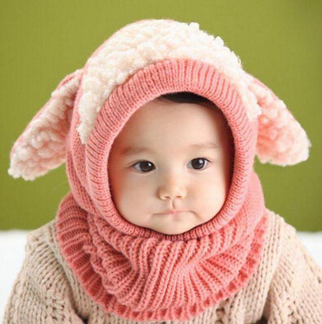шапка шлем для новорожденных