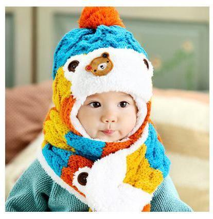 вязаная шапка шлем для новорожденных