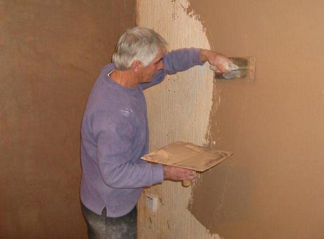 Gipsani zidovi pod pozadinu sa svoje ruke: instrukcije, tehnologije i opis