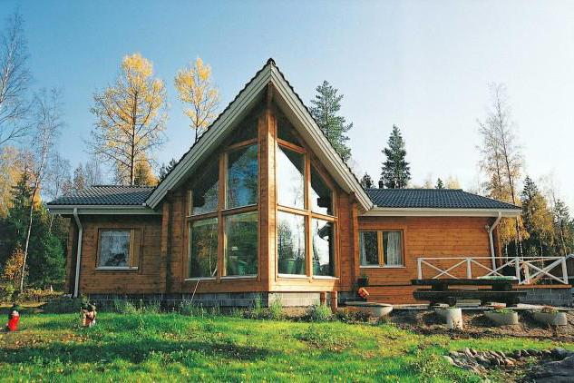 Skandinavski kući: dizajna, fotografije