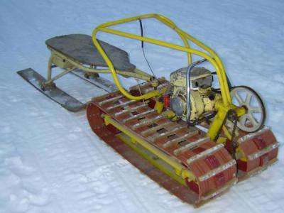 Motorne sanke motoblock iz ruku. Kako napraviti domaći motorne sanke iz motoblock?
