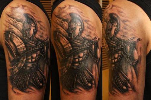 Spartan - tetovaža koji pokazuje hrabrost, snagu i hrabrost