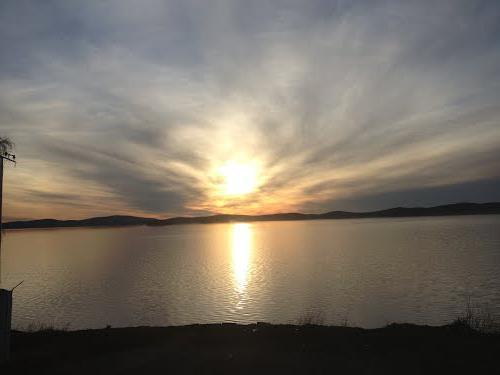 Среднеуральск, исетское озеро