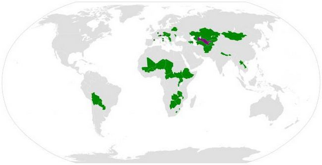 Страна, не имеющая выхода к морю. Где находятся страны, не имеющие доступ к морю