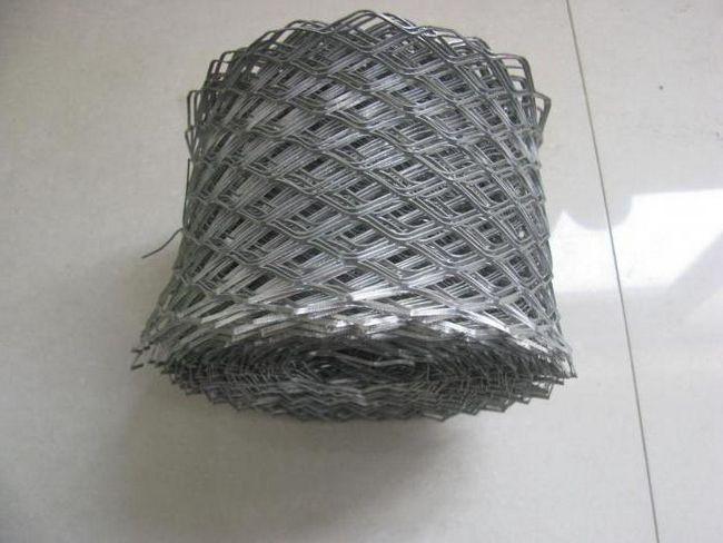 Staklene tkanine mreže fasada