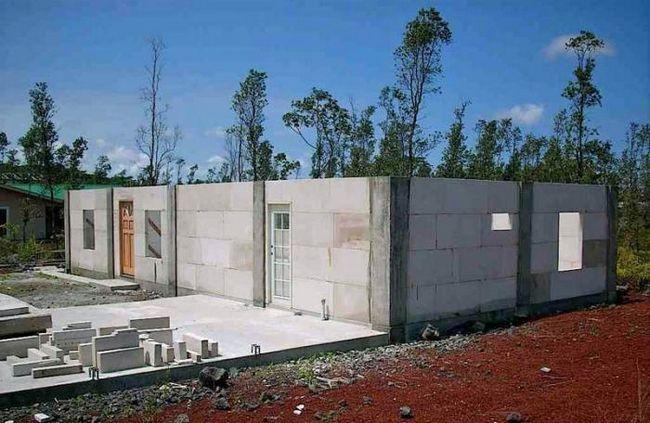 izgradnju kuće pjene blokova