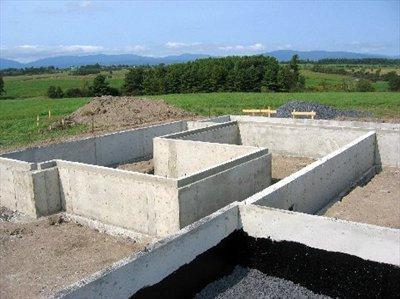 строительство фундаментов