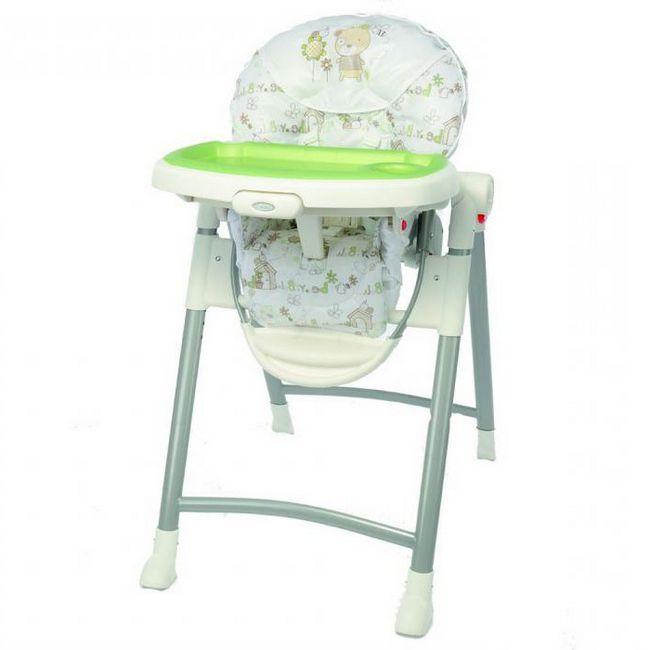 стульчик для кормления graco