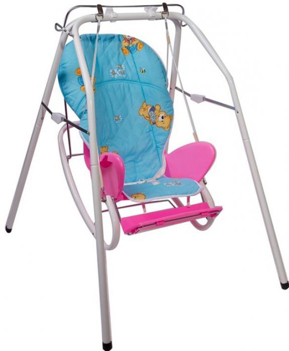 стульчик для кормления няня 189 1 4 в 1 голубой