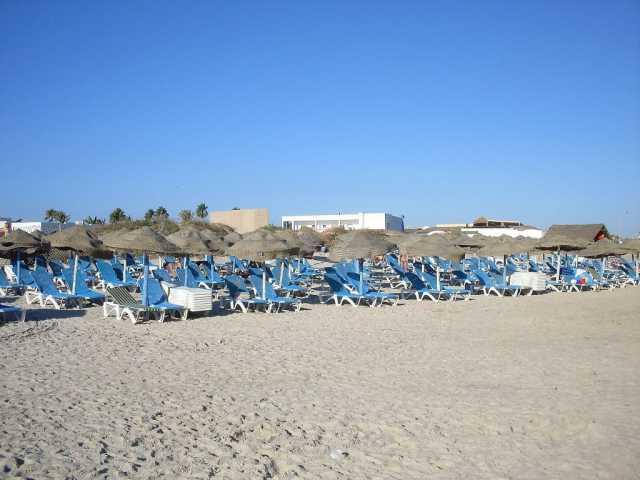 sunce plaža borj sedria 4 Hammamet
