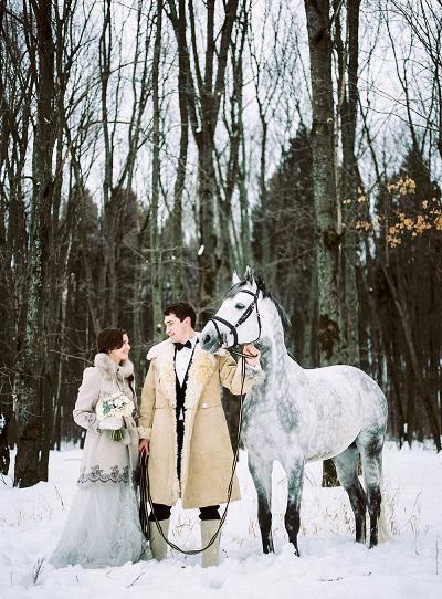 Vjenčanje na ruskom narodnom stilu