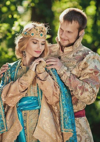 Vjenčanje poziv u ruskom stilu