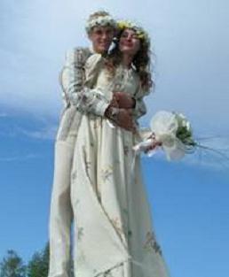 Dekor vjenčanje u ruskom stilu