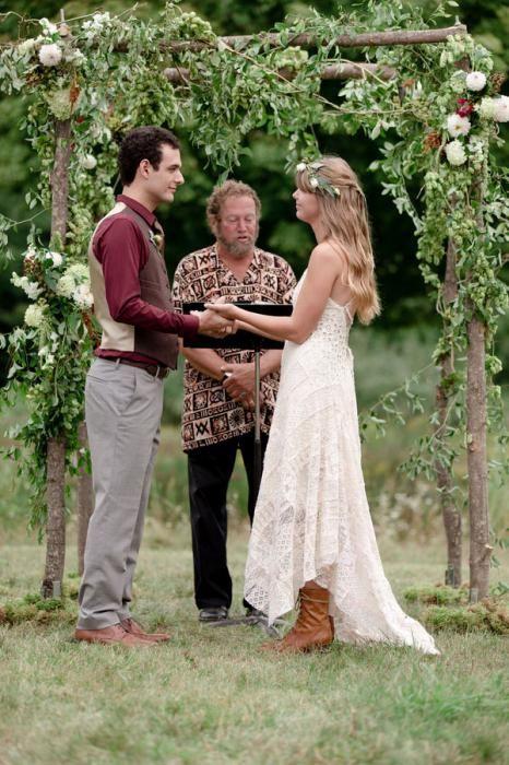 Свадьба в стиле бохо: оформление и детали
