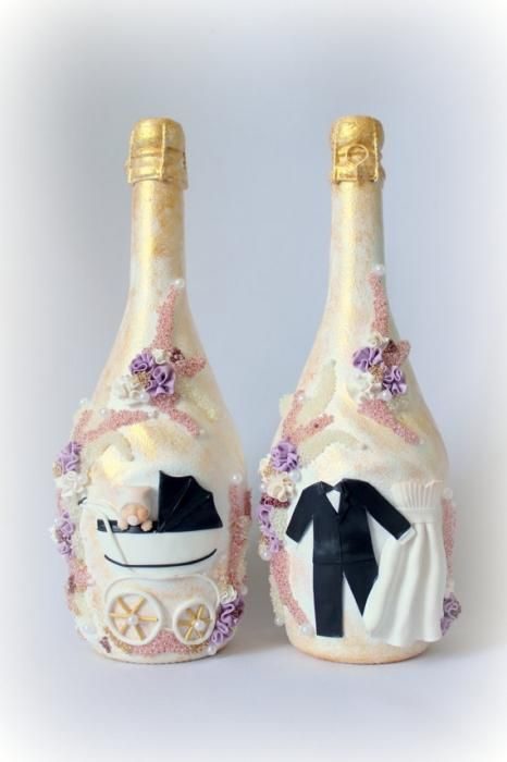 Свадебная этикетка на бутылке - бренд современной свадьбы