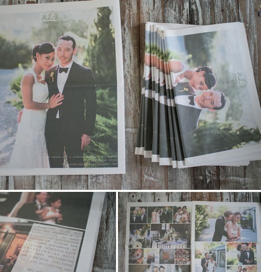 Свадебные газеты как альтернатива свадебномуальбому
