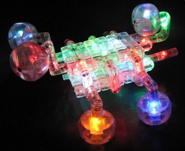 Dizajner LED laser klinova
