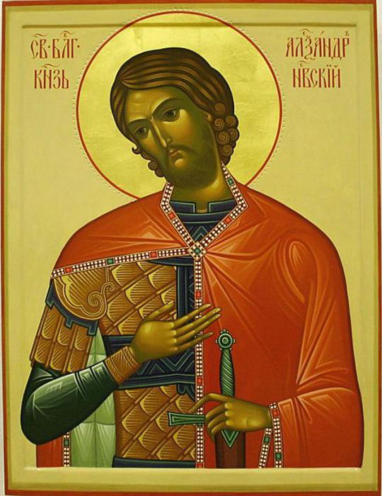 St. Alexander Nevsky. Ikona Aleksandra Nevskog. Rukom pisane pravoslavne ikone