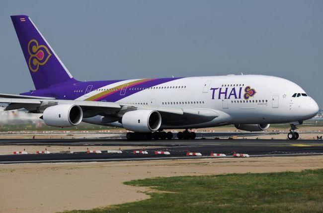 Registracija na Thai Airways
