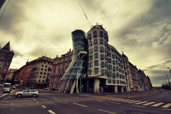 Танцующий дом. Прага и необычная архитектура