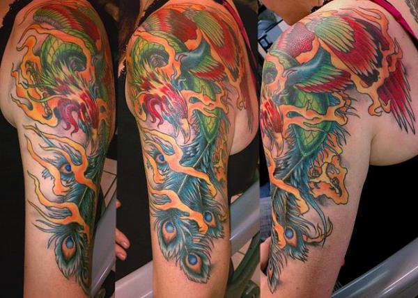 Тату японское. Японские татуировки и их значение