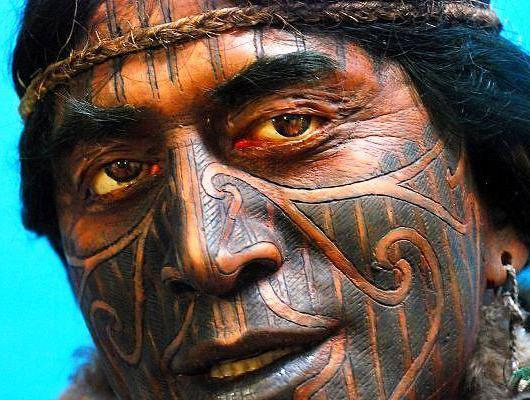 тату маори