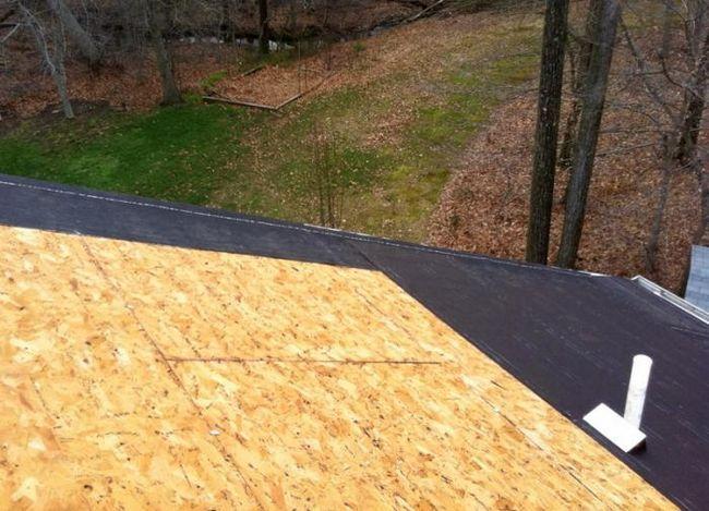 Tehnologija polaganje mekom krovu