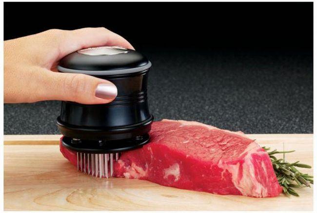 Tenderayzer meso: specifikacije, mišljenja