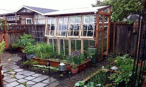 Zimski vrt sa svojim rukama iz prozorskih okvira