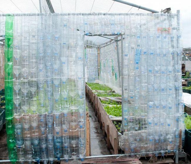 staklenika plastičnih boca, kako napraviti