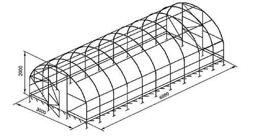 plastenika od profila cijevi s rukama