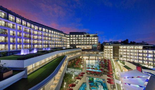 the sense deluxe hotel 5 сиде