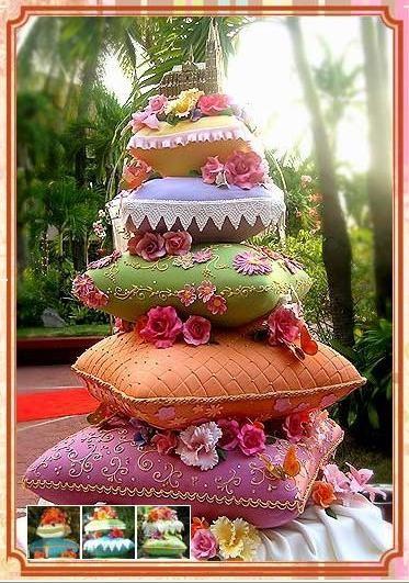 originalni svadbena torta