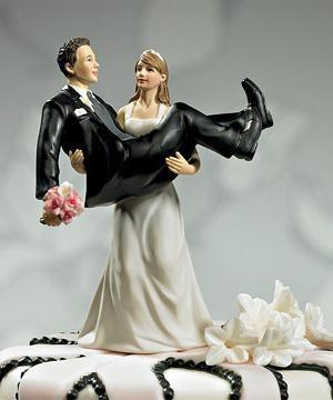original figure na svadbenu tortu
