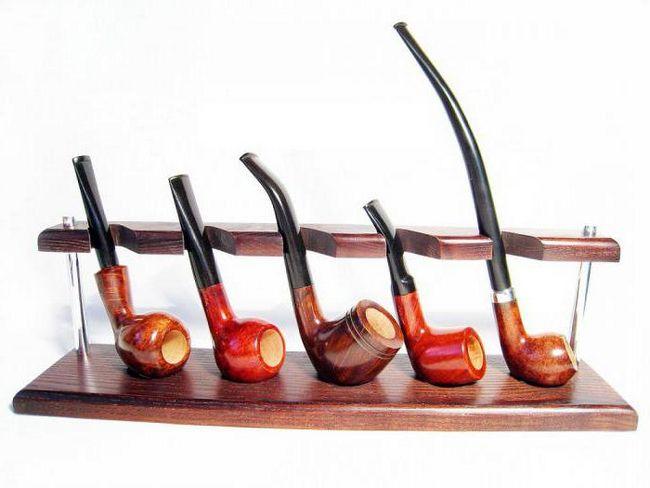 Pušenje cijevi i njegove vrste. Kako pušenje cijev sa svojim rukama?