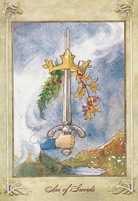 Ace of Swords tarot vrijednosti
