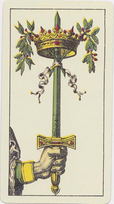 Ace of Swords tarot značaja u odnosima