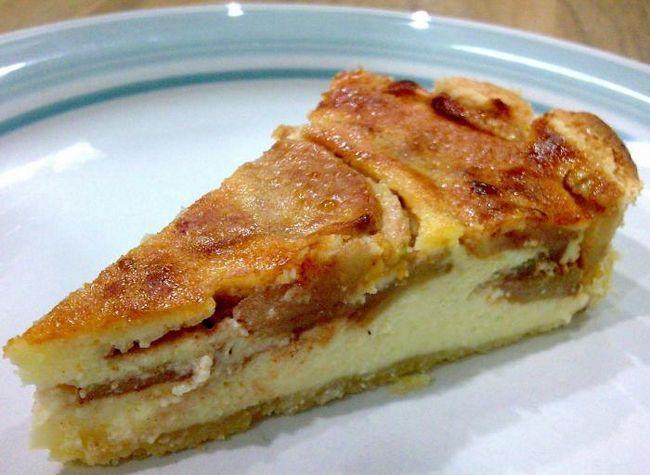 Lako pita od jabuka sa jabukama i sirom