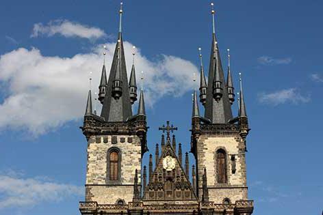 Tyn Crkve u Pragu: slike