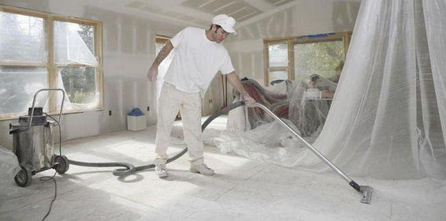Čišćenje stana nakon popravka - odakle početi? Čišćenje stanova, nakon popravke, troškovi