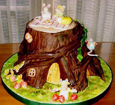 Ukrašavanje tortu s rukama u kući (slike)
